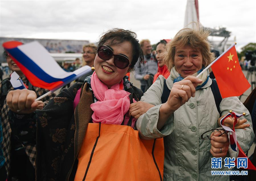 """(國際)(1)中俄民眾莫斯科共慶""""中國文化節"""""""