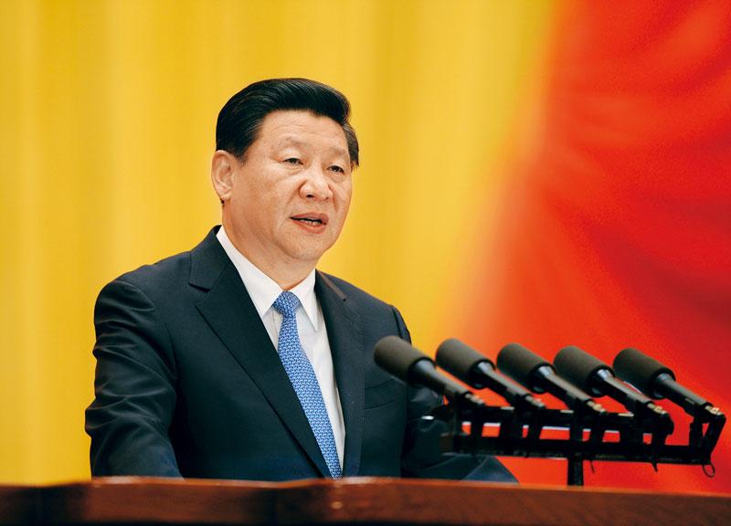 习近平:在庆祝全国人民