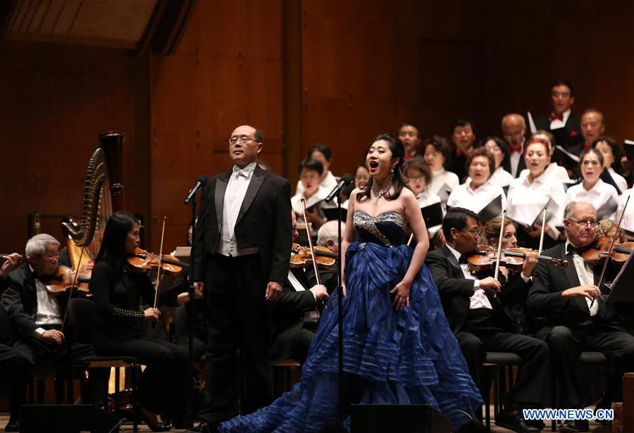 U.S.-NEW YORK-SYMPHONIC CONCERT-CHINA