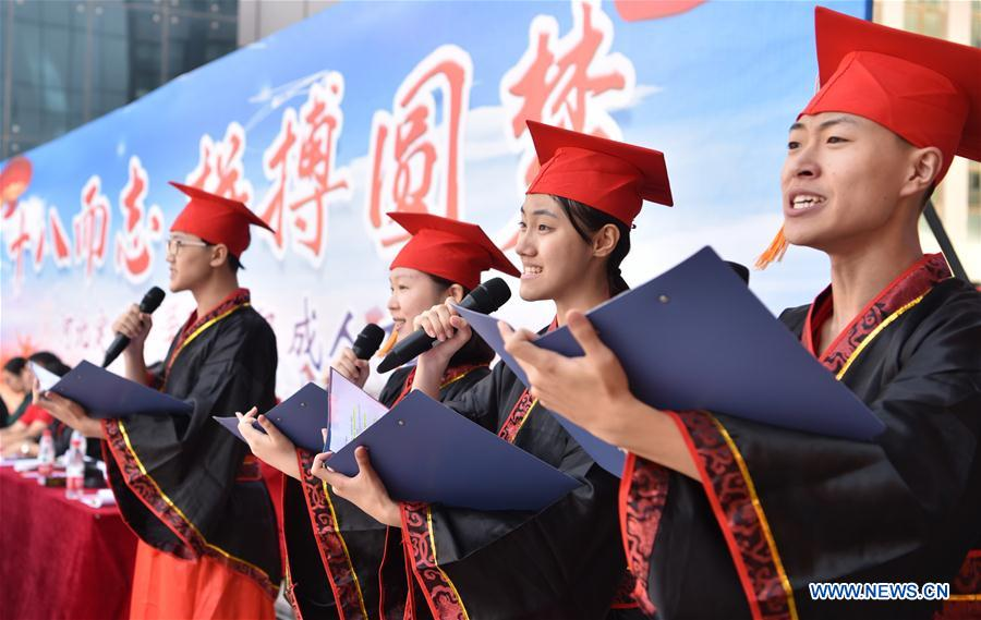 CHINA-HEBEI-COMING-OF-AGE CEREMONY (CN)