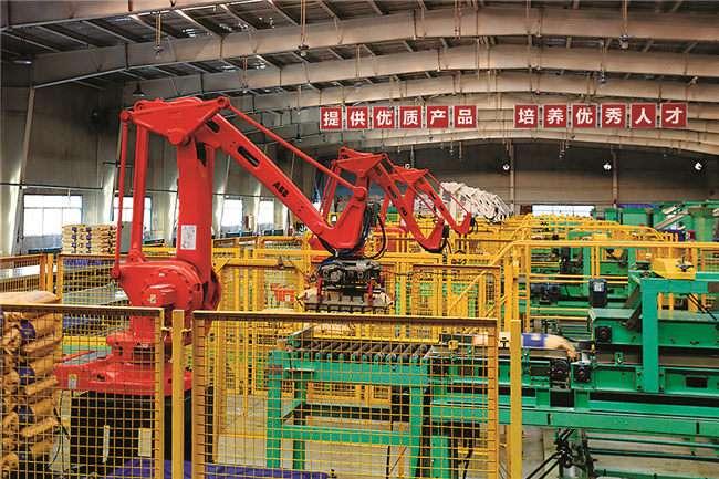 现代化生产线,让神木工业经济持续增长