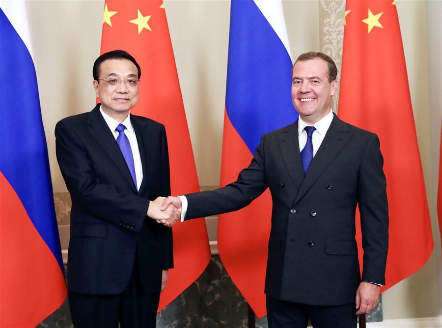 RUSSIA-ST. PETERSBURG-LI KEQIANG-RUSSIAN PM-REGULAR MEETING