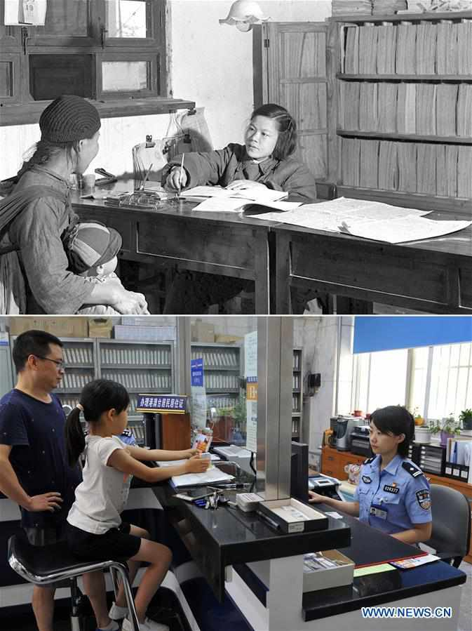 (MOMENTS FOREVER)CHINA-OCCUPATIONS-70 YEARS-DEVELOPMENT (CN)