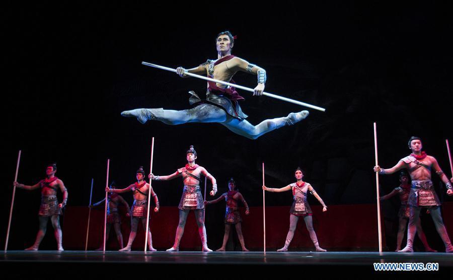 "Ballet ""Mulan"" staged in Mississauga, Canada"