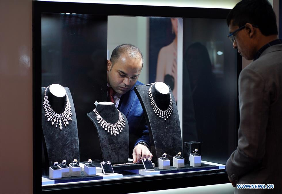 September Hong Kong Jewellery & Gem Fair in south China's Hong Kong