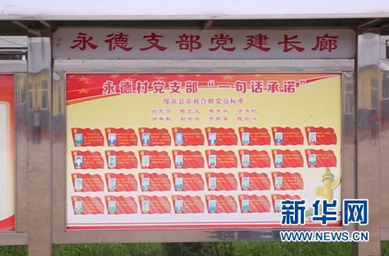 """【边疆党旗红】一句话承诺让永德村党建和扶贫""""双促双赢"""""""