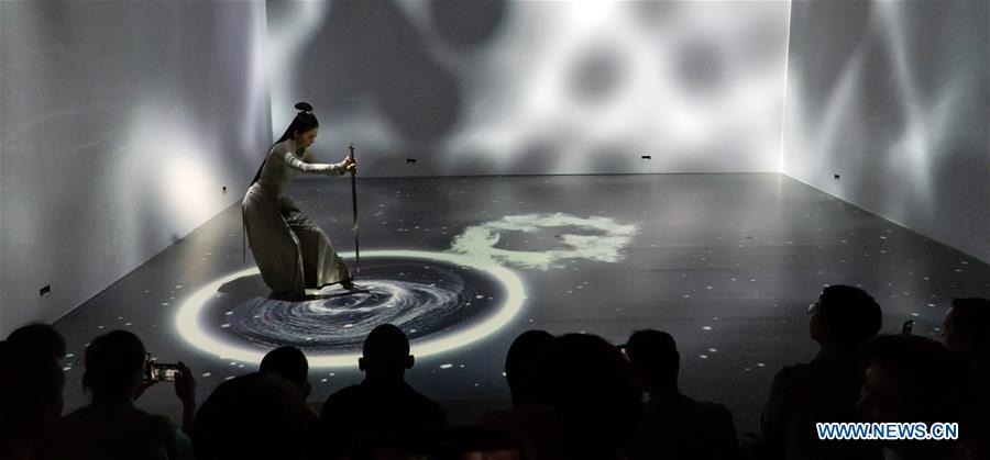 CHINA-BEIJING-EXHIBITION-DANCE ART (CN)