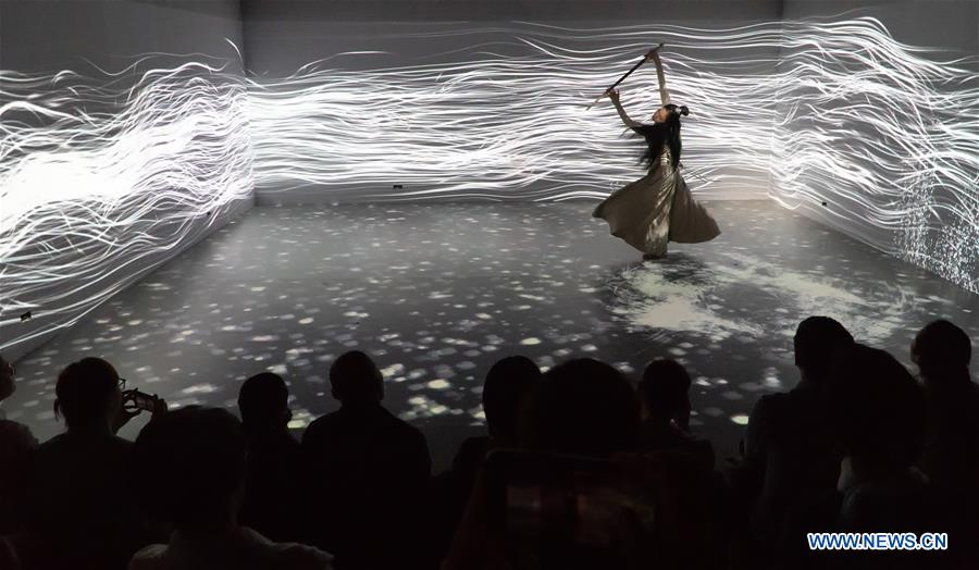 CHINA-BEIJING-EXHIBITION-DANCE ART (CN)