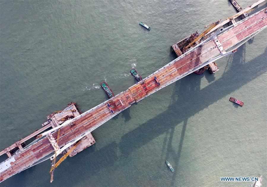 CHINA-FUJIAN-CROSS-SEA ROAD-RAIL BRIDGE-COMPLETION (CN)
