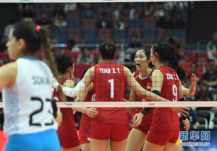 (体育)(1)排球――女排世界杯:中国队十一连胜 成功卫冕