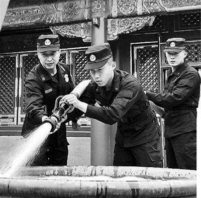 消防卫士护故宫安全守土有责