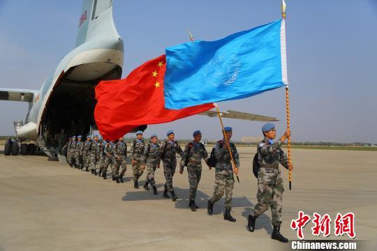 中国赴南苏丹(瓦乌)维和部队官兵全部回国