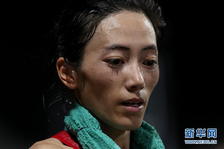 (田径世锦赛)(7)田径——女子50公里竞走:梁瑞夺冠