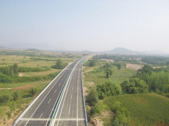 中建市政承建的平赞高速石家庄支线南段顺利通车