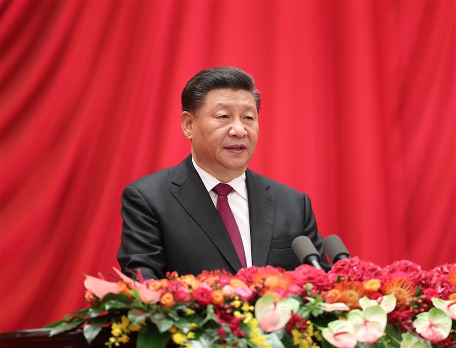 CHINA-BEIJING-NATIONAL DAY-RECEPTION-XI JINPING(CN)
