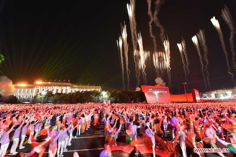 In pics: evening gala held to mark 70th founding anniversary of PRC