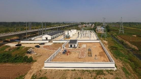 中国中铁电气化局商合杭高铁房建项目部施工侧记