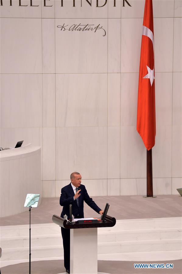 TURKEY-ANKARA-ERDOGAN-SAFE ZONE