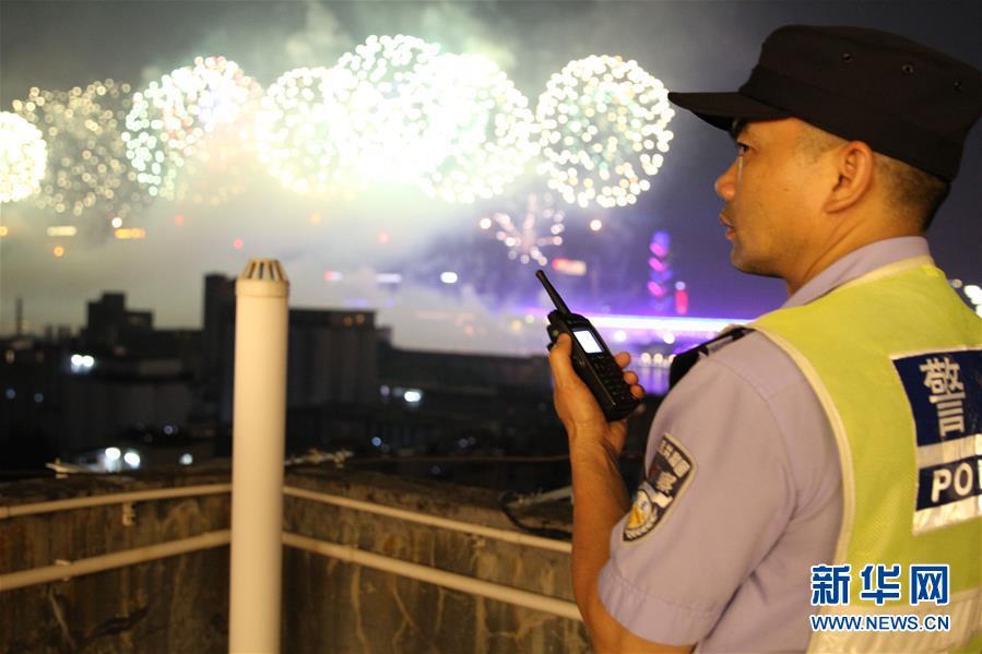 为保一方平安民警的国庆一天是这样度过的