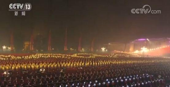 千人同心与音共舞——揭秘国庆70周年联欢活动千人交