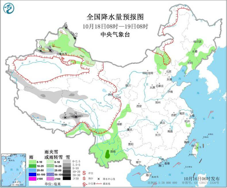 赚钱门路:西南地区华北有阴雨天气 西部地区有降雪