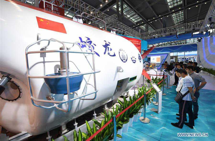 (SCI-TECH)CHINA-SHENZHEN-MARINE ECONOMY EXPO (CN)