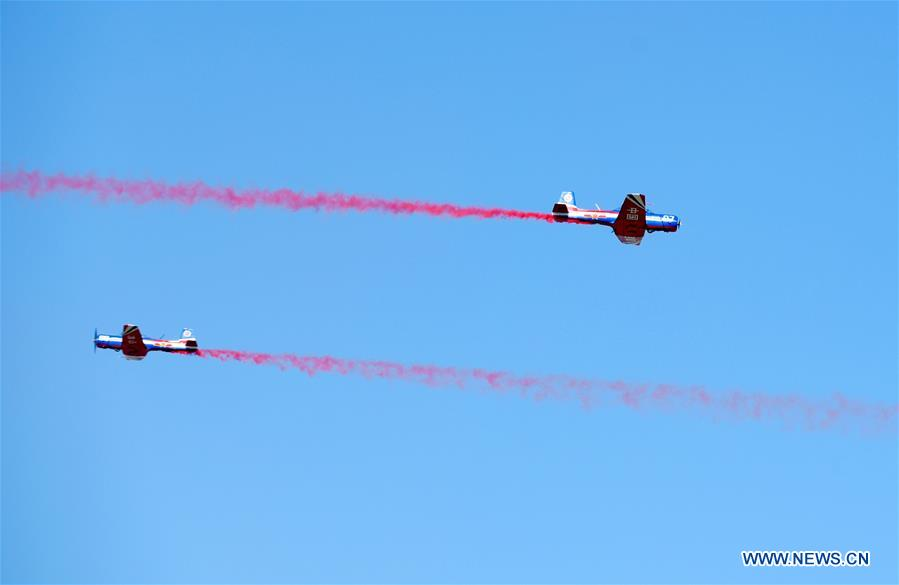 CHINA-JILIN-CHANGCHUN-PLA AIR FORCE-70TH ANNIVERSARY-CELEBRATIONS (CN)