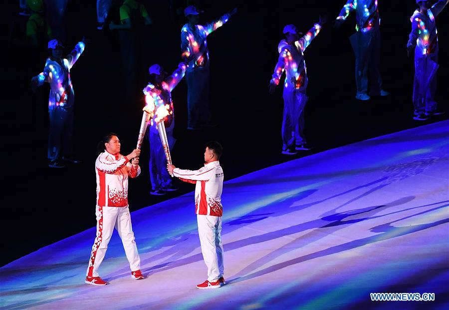 In pics: Opening ceremony of 7th CISM Military World Games held in Wuhan