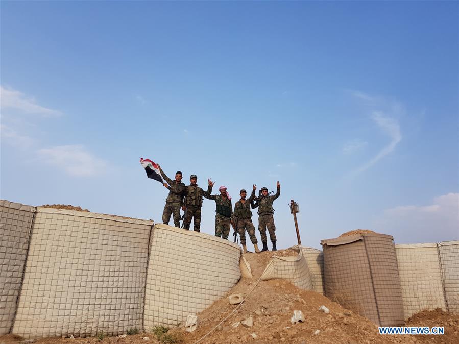 SYRIA-HASAKAH-ARMY-U.S.-BASE-ENTRY