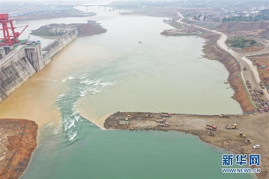 (社會)(1)廣西大藤峽水利樞紐工程大江截流工作進入關鍵階段