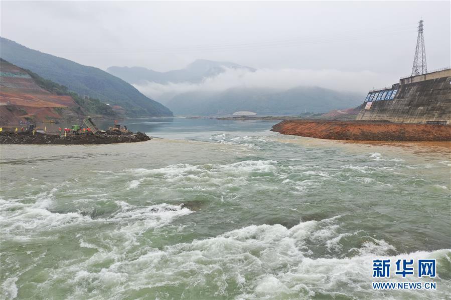 (社會)(4)廣西大藤峽水利樞紐工程大江截流工作進入關鍵階段