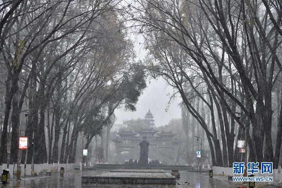 (环境)(3)青海西宁迎来降雪