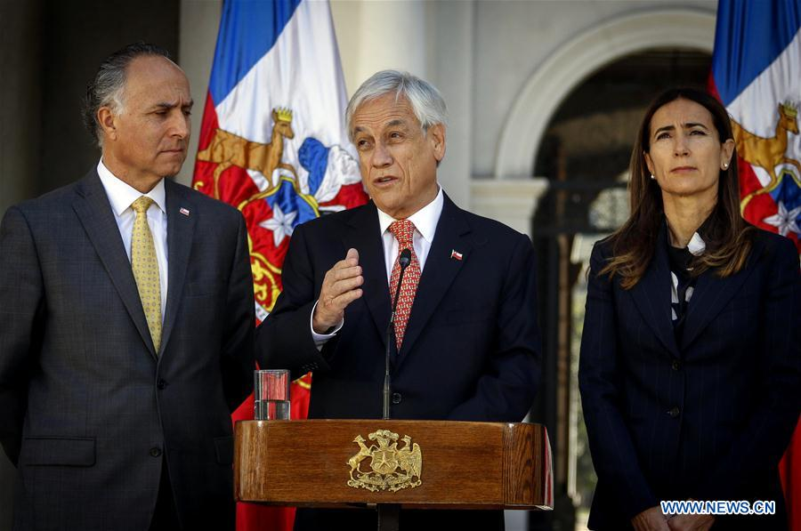 CHILE-SANTIAGO-APEC-COP25-SUMMITS-HOSTING-SUSPENDING