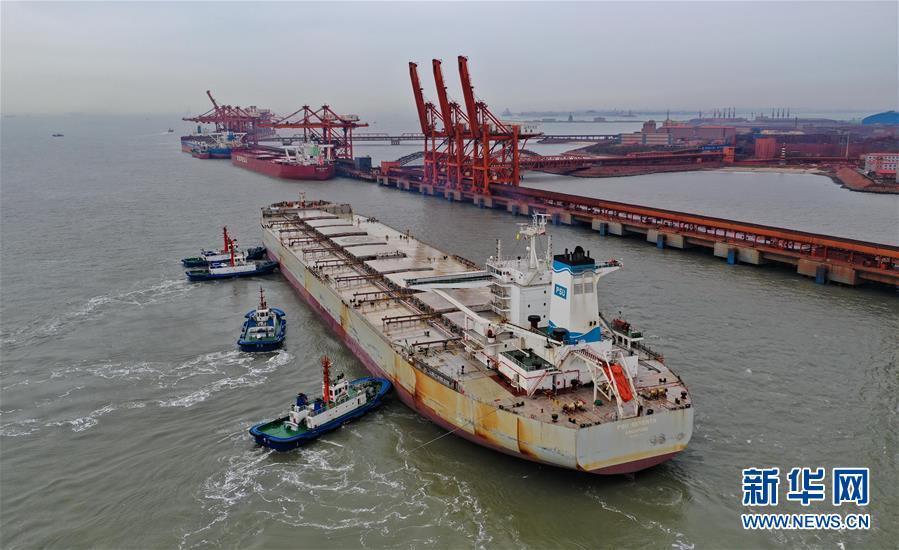 (经济)河北唐山:曹妃甸港区前三个季度货物吞吐量超2.6亿吨