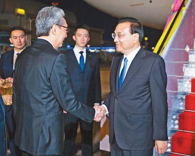 李克强抵达曼谷出席东亚合博朗定做扑克牌厂最新作领导人系列会议并对泰国进行正式访问