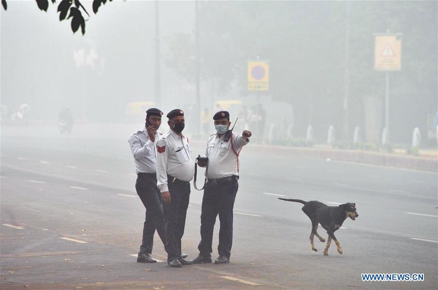 INDIA-NEW DELHI-AIR POLLUTION