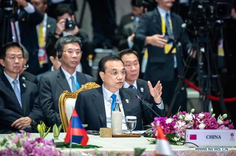 THAILAND-BANGKOK-LI KEQIANG-CHINA-ASEAN LEADERS' MEETING