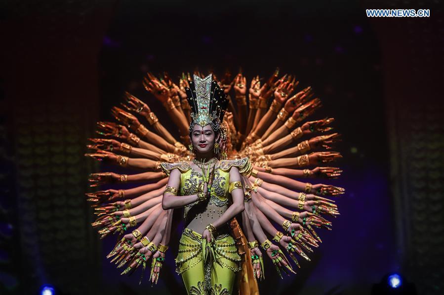 BRAZIL-SAO PAULO-CHINA-DISABLED ARTISTS-PERFORMANCE