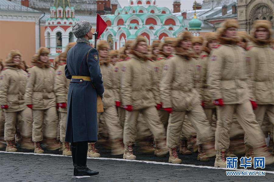 (国际)(2)莫斯科举行阅兵纪念1941年红场阅兵78周年