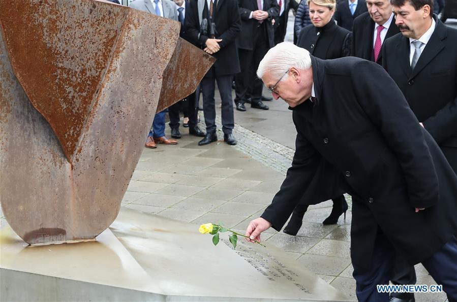 GERMANY-BERLIN-FALL OF THE BERLIN WALL-30TH ANNIVERSARY-COMMEMORATION