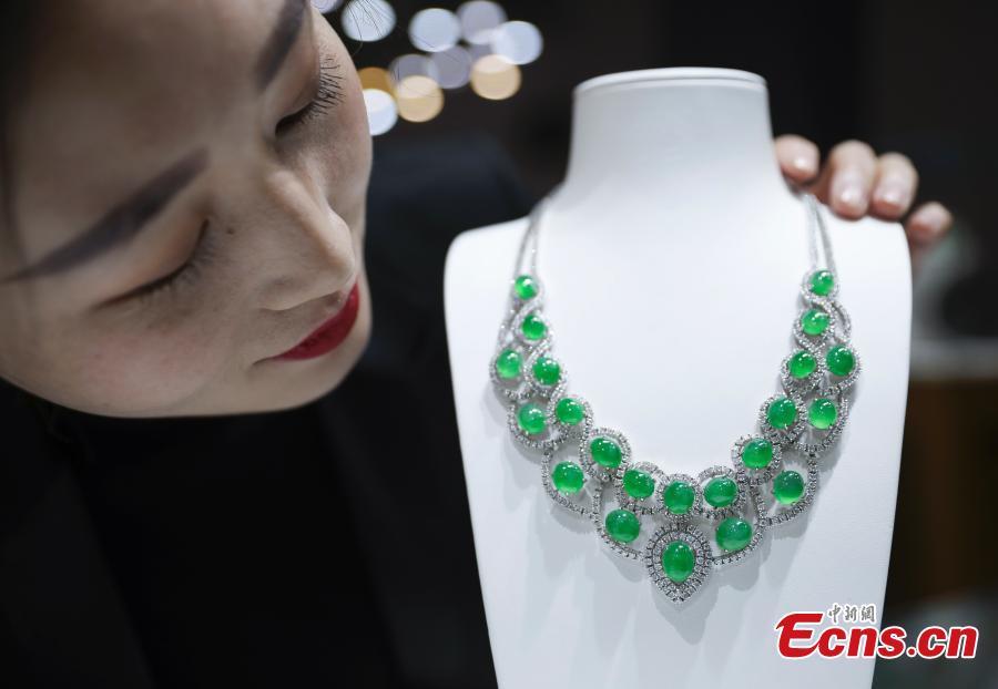 2019 China International Jewelry Fair opens in Beijing
