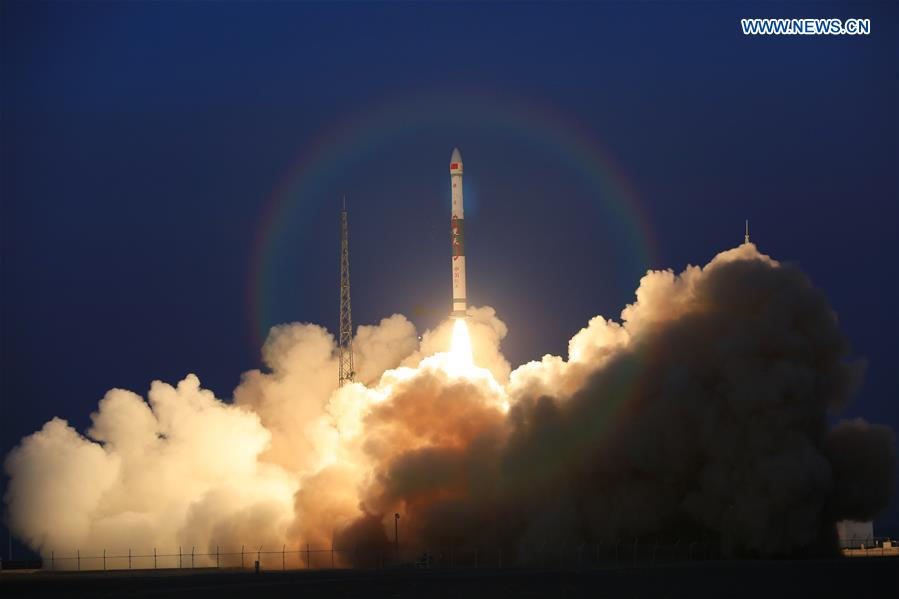 China sends two global multimedia satellites into planned orbit