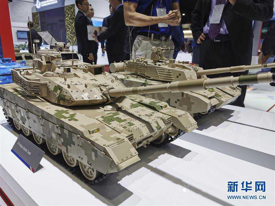 """中国国家国防科技工业局组织7家军贸公司以""""中国军工""""国家展团形式首次亮相泰国国际防务展"""