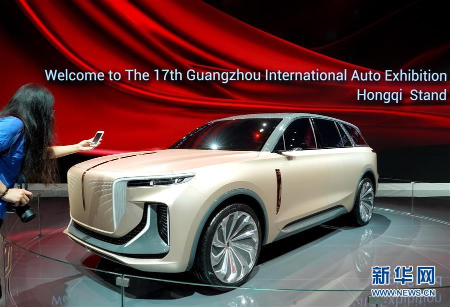 (經濟)(1)廣州國際車展拉開帷幕