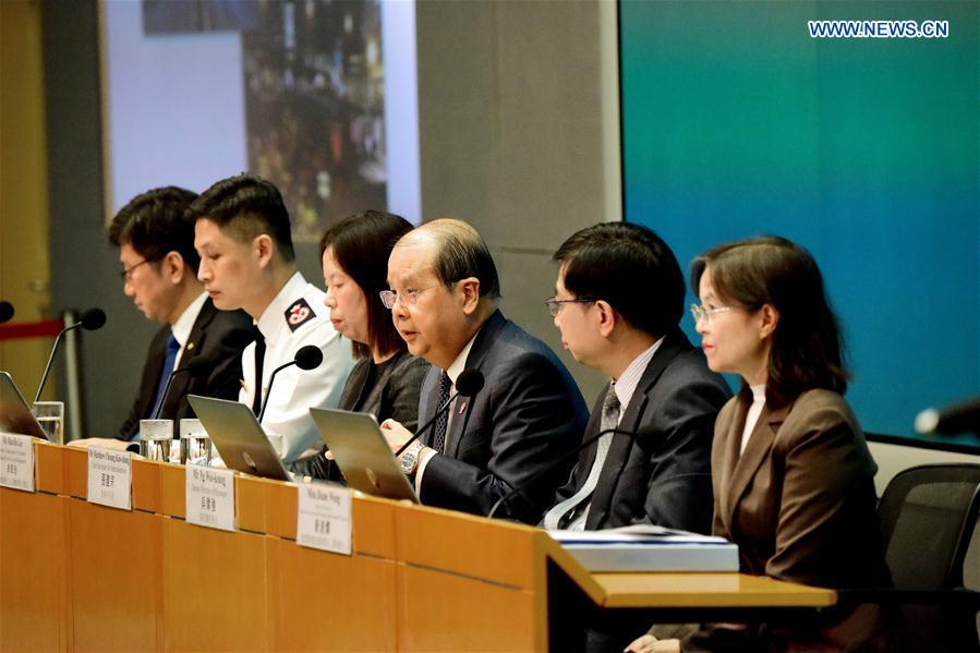 CHINA-HONG KONG-PRESS CONFERENCE-TUNNEL-REOPEN (CN)