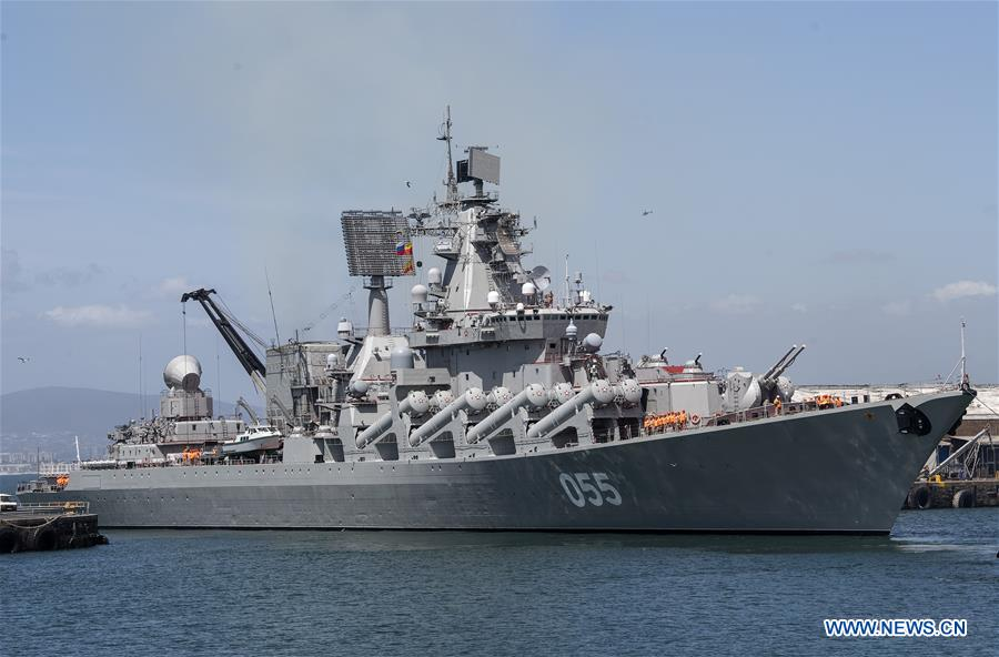 SOUTH AFRICA-CAPE TOWN-CHINA-RUSSIA-MULTINATIONAL MARITIME EXERCISE