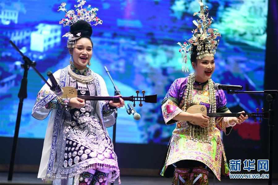 (文化)(4)贵阳:侗族群众欢度侗年