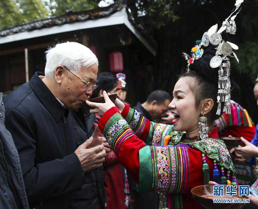 (文化)(5)贵阳:侗族群众欢度侗年