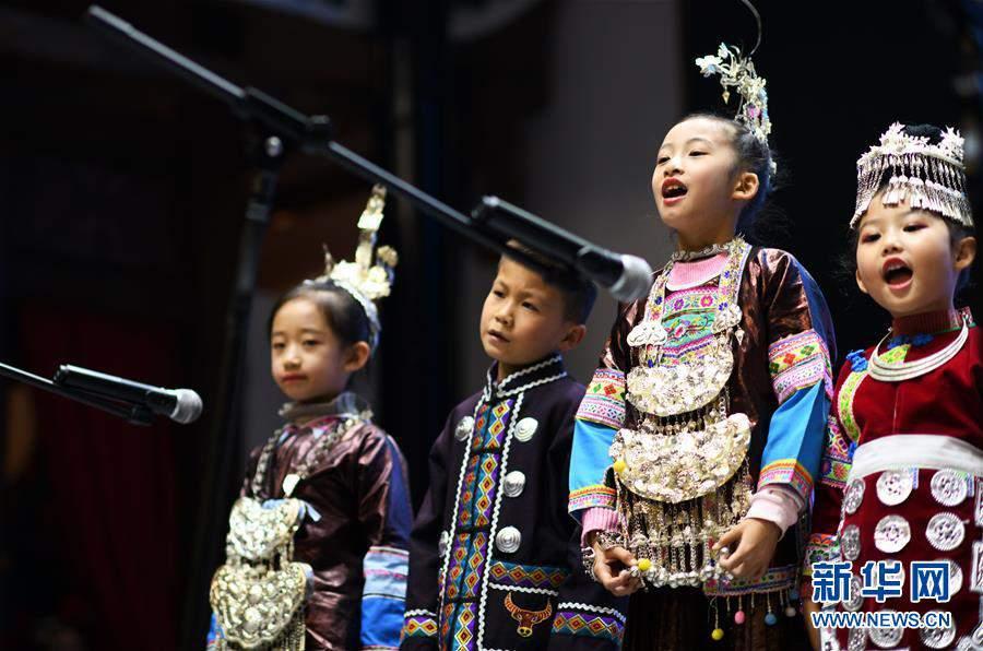 (文化)(1)贵阳:侗族群众欢度侗年