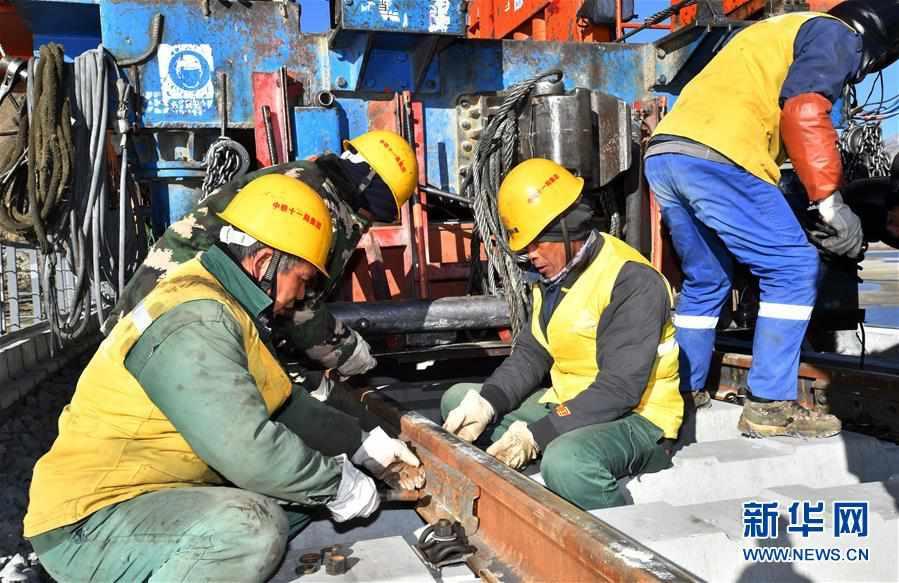 (经济)(7)拉林铁路第二次跨越雅鲁藏布江